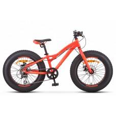"Велосипед 20"" Stels Aggressor MD V010 (рама 11) (ALU рама) (8-ск.) Неоновый/красный"