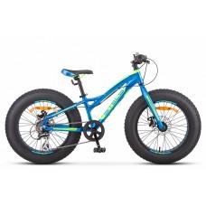 """Велосипед 20"""" Stels Aggressor MD V010 (рама 11) (ALU рама) (8-ск.) Синий"""