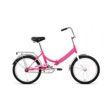"Велосипед 20"" FORWARD ARSENAL 1.0 (1-ск.) 2019-2020 розовый/серый"