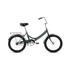 """Велосипед 20"""" FORWARD ARSENAL 1.0 (1-ск.) 2019-2020 серый/бирюзовый"""