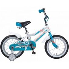 """Велосипед 14"""" Novatrack NOVARA (ALU рама) БЕЛЫЙ WT9"""