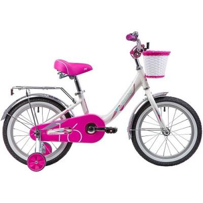 """Велосипед 16"""" Novatrack ANCONA (ALU рама) БЕЛЫЙ WT9"""