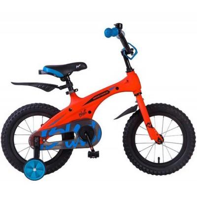 """Велосипед 14"""" Novatrack BLAST ОРАНЖЕВЫЙ НЕОН OR9"""