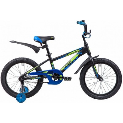 """Велосипед 18"""" Novatrack LUMEN (ALU рама) ЧЕРНЫЙ BK9"""