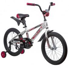 """Велосипед 18"""" Novatrack LUMEN (ALU рама) СЕРЕБРИСТЫЙ BN9"""