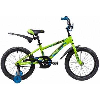 """Велосипед 18"""" Novatrack LUMEN (ALU рама) ЗЕЛЕНЫЙ GN9"""