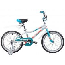 """Велосипед 18"""" Novatrack NOVARA (ALU рама) БЕЛЫЙ WT9"""