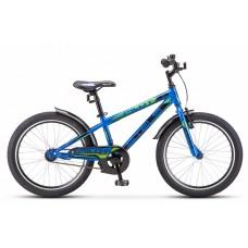 """Велосипед 20"""" Stels Pilot 200 Gent Z010 (рама 11) Синий"""