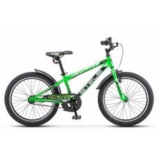 "Велосипед 20"" Stels Pilot 200 Gent Z010 (рама 11) Зеленый"