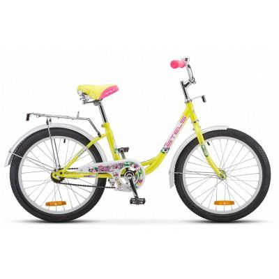 "Велосипед 20"" Stels Pilot 200 Lady Z010 (рама 12) Лимонный"